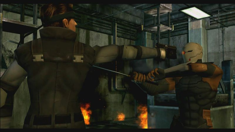(Metal Gear Solid) Solid Snake VS Gray Fox