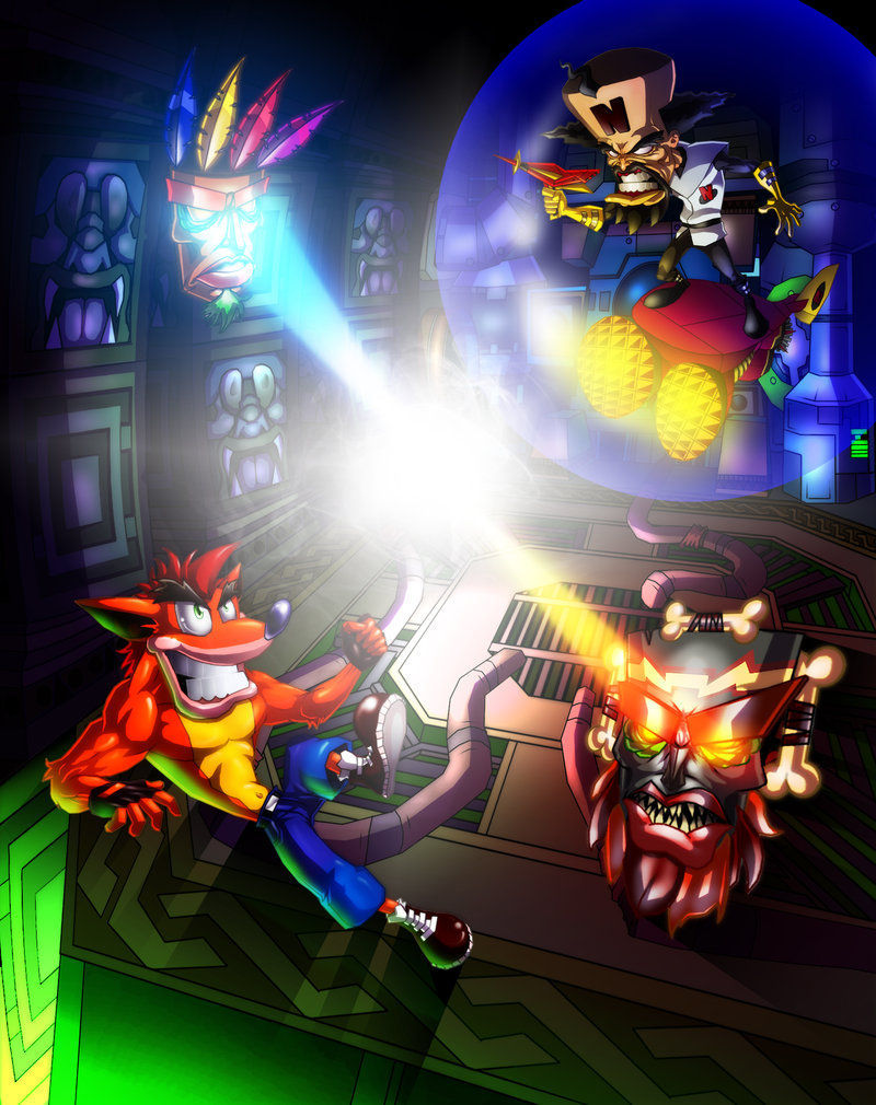 (Crash Bandicoot 3: Warped) Crash Bandicoot VS Dr. Neo Cortex