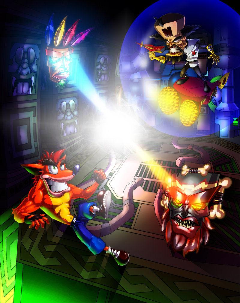 (Crash Bandicoot 3: Warped) Crash Bandicoot VS Dr. Neo Cortex