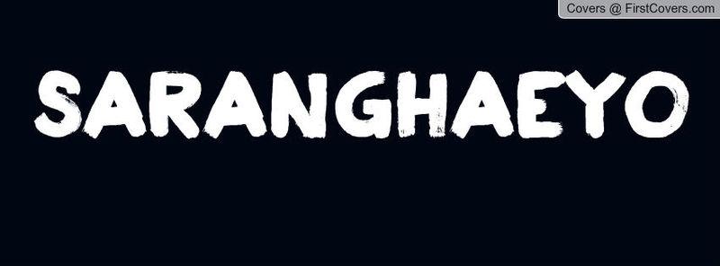 ¿Qué significa 사랑해요 (sarang hae yo)?