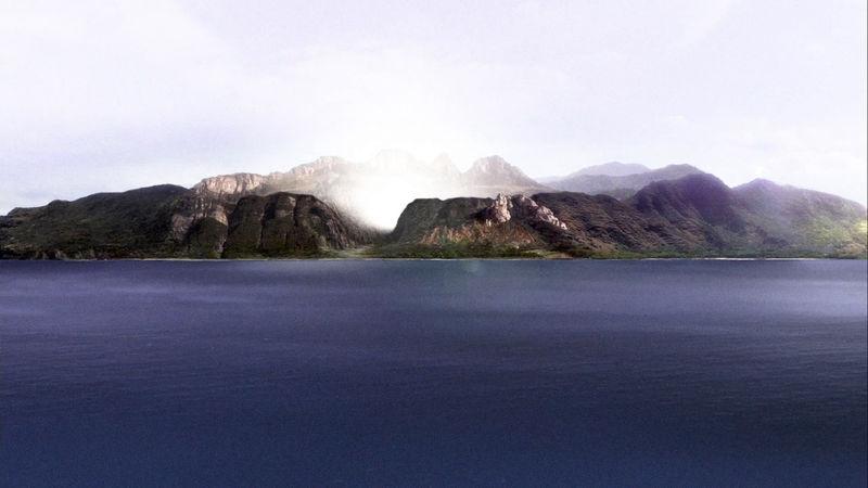 La isla...