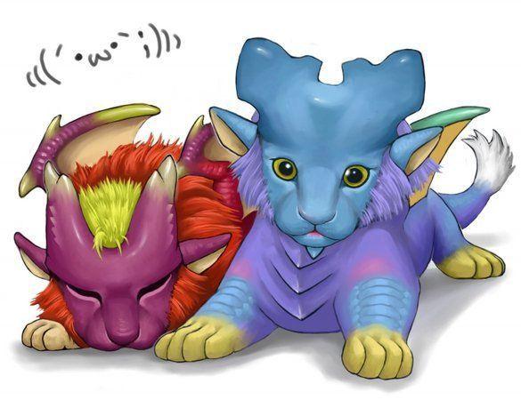 ¿Qué pareja de monstruos son la más conocida y siempre se les añade juntos en el juego?