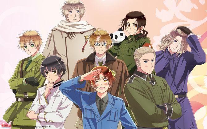 15608 - ¿Conoces estos personajes de Hetalia Axis Powers?