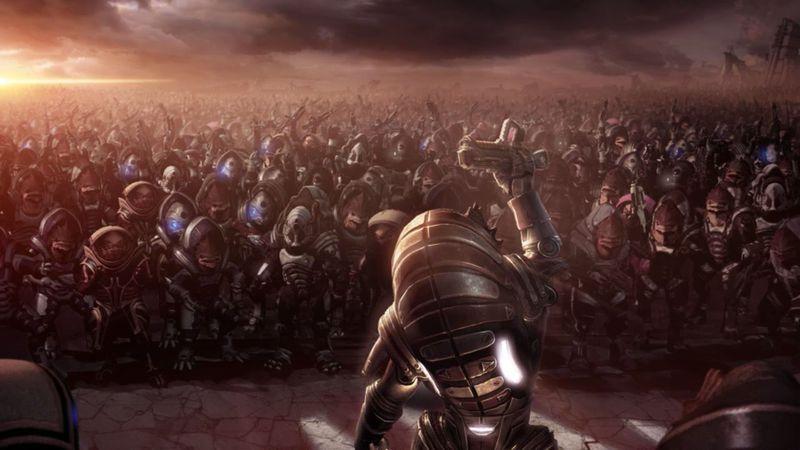 Has descubierto la base del enemigo y debes liderar el ataque contra ella ¿Cómo te diriges a tus tropas?
