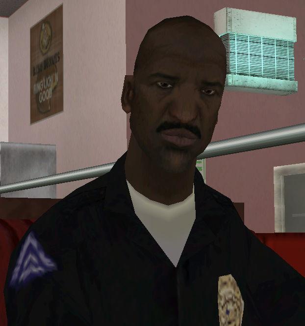 ¿De qué se le acusa a CJ en el juego según Tenpenny?