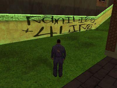 ¿Qué ocurre con este grafiti?