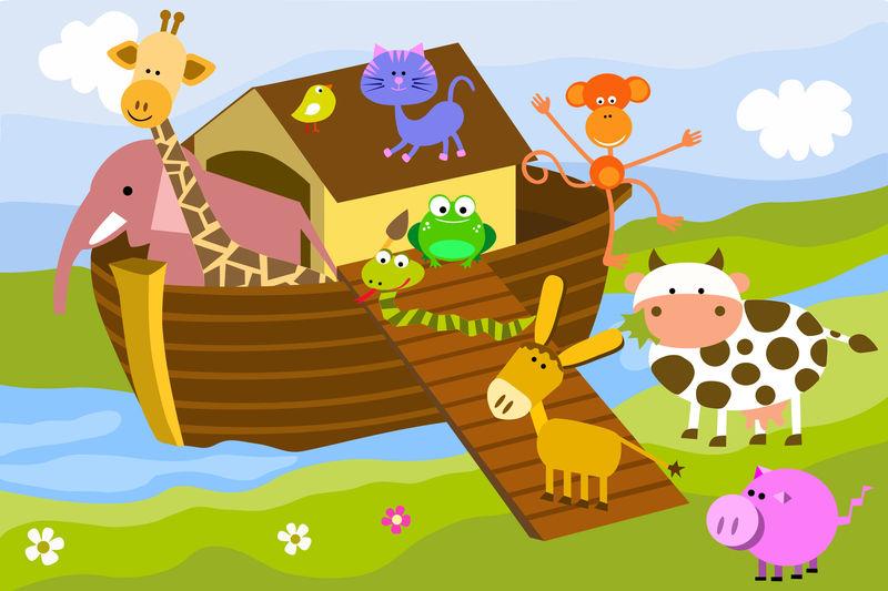 ¿Cuántos animales metió Noé en su arca?