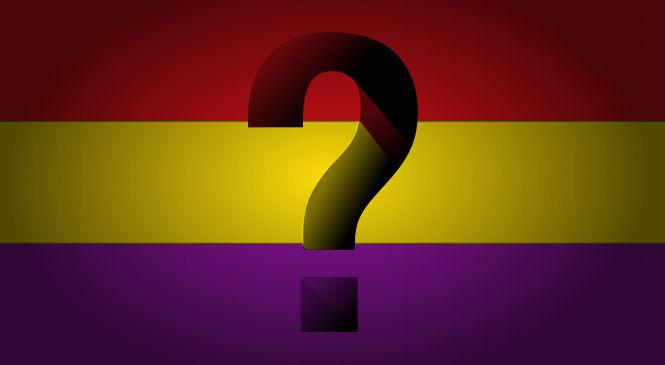¿Se mantendría la bandera de la II República?