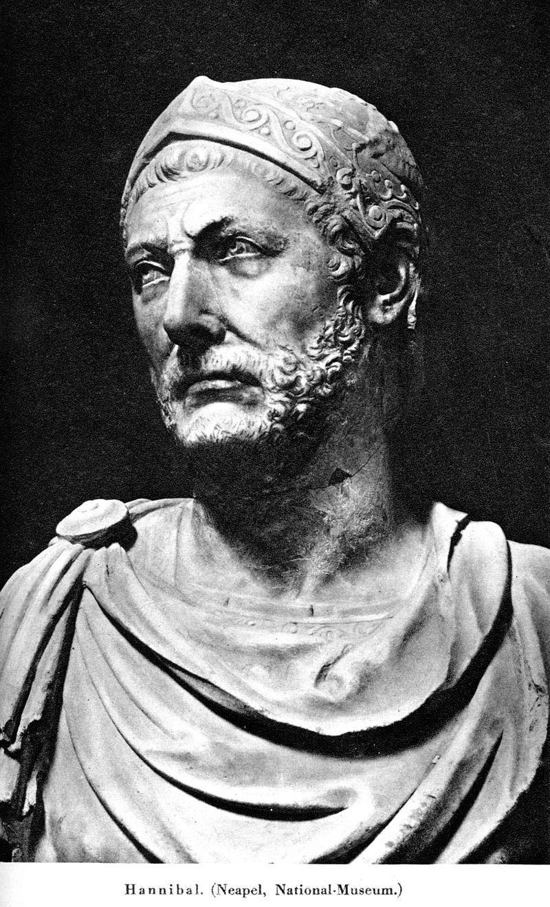¿En qué Batalla fue derrotado Aníbal?