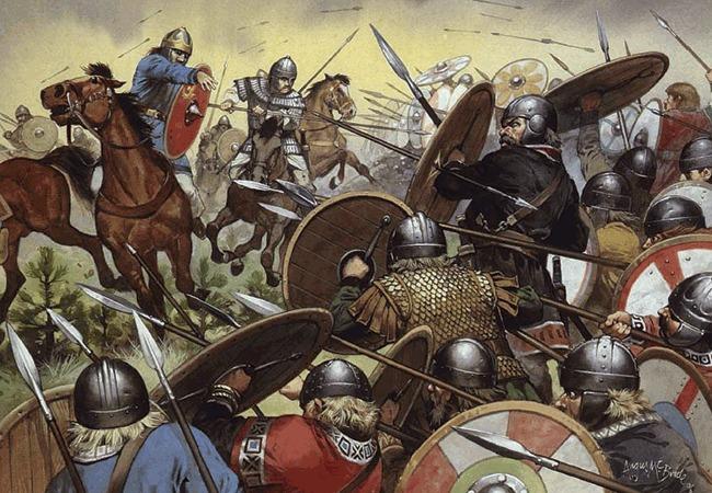 Y para acabar, ¿cuál fue la última victoria del ejército romano antes de la caída del Imperio Romano en el 476 a.C?