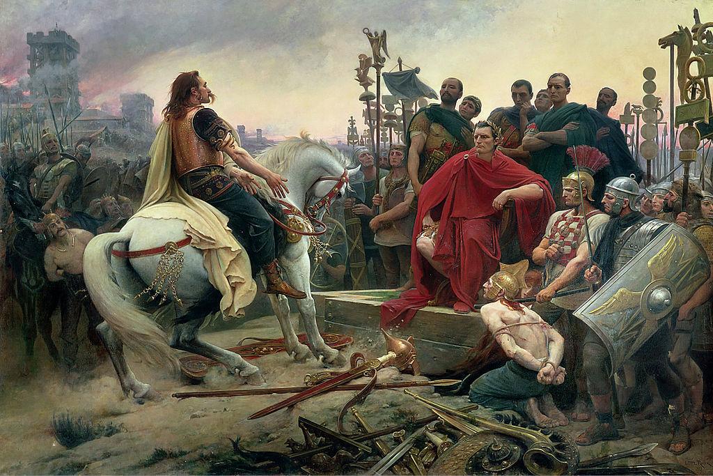 Empezamos con una facilita, ¿cuál fue el general romano más importante en la guerra de las Galias?
