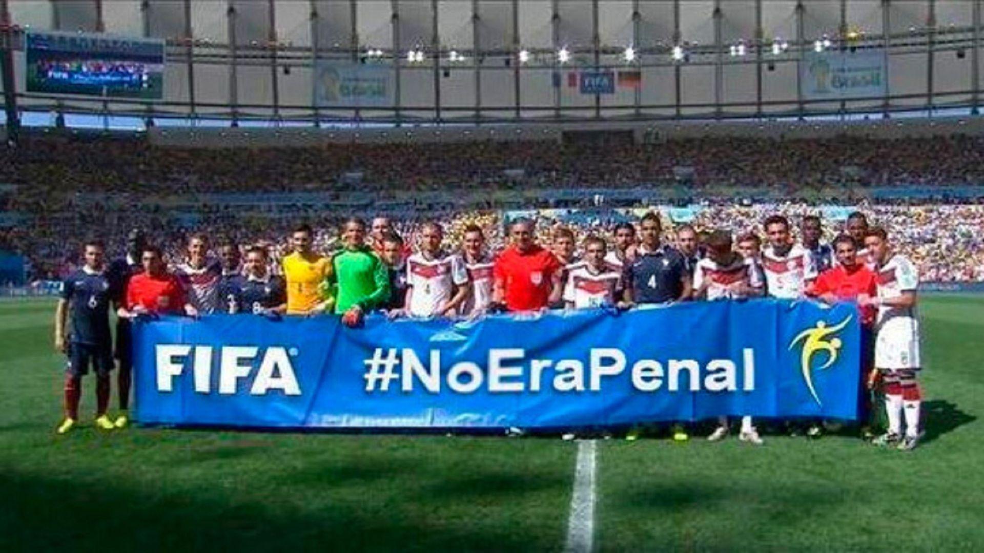 En el mundial Brasil2014, ¿qué situación creó la frase