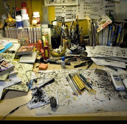 Es el escritorio de...