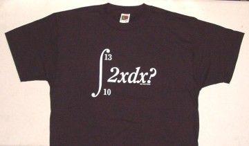 Resuelve la integral de la camiseta: