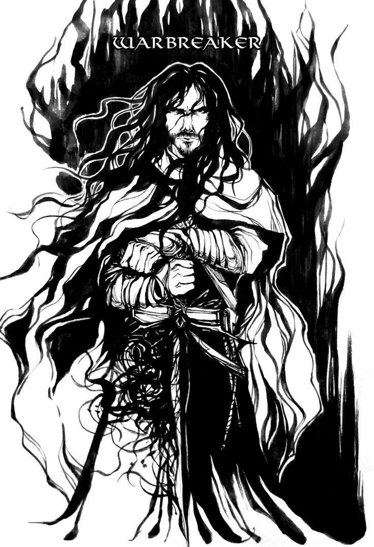 Sangre Nocturna es una poderosa espada viva que acompaña a Vasher en