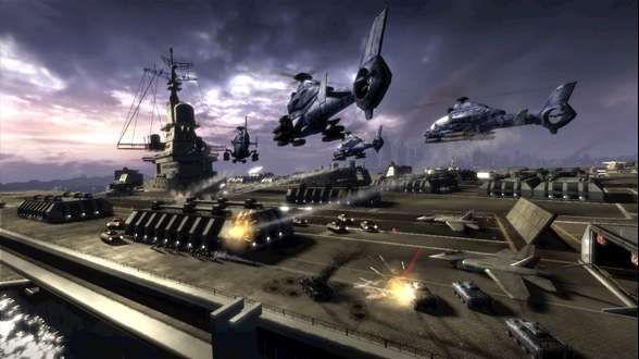 ¿Cómo se llama el super-portaaviones estadounidense que es hundido en el conflicto?