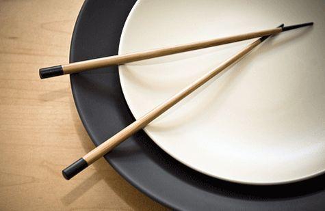 ¿Con qué tipo de comida se usan los palillos?