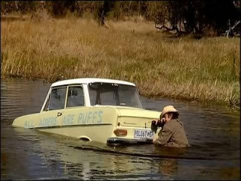 ¿Cómo decidió Richard Hammond llamar a su coche en el especial de Botswana?