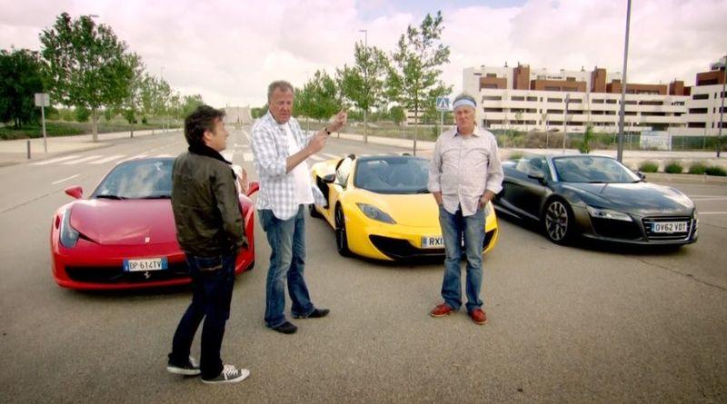 ¿Qué coche conducía James May en la visita de Top Gear a España?