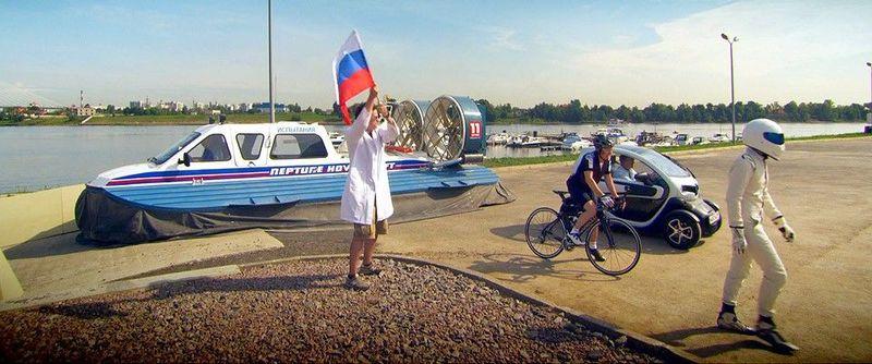 ¿Quién ganó la carrera por San Petersburgo?
