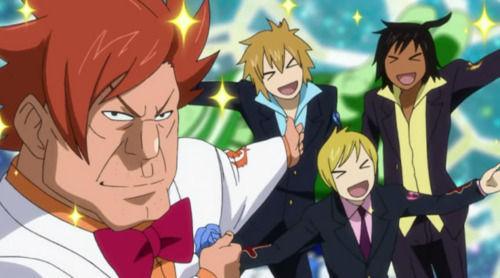¿Cómo se llama el equipo formado por Hibiki, Ren y Eve?