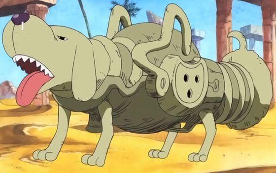 El perro salchicha de Mr 4 es muy parecido a otro perro que aparece en un opening ¿cuál es este opening?