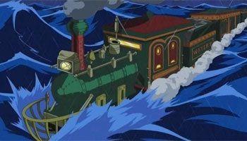 ¿Cuántos años le dieron a Tom para construir el tren marino de Water 7?