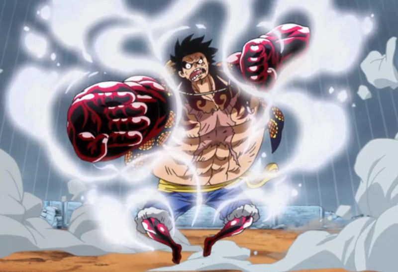 ¿Por qué Luffy puede volar en el Gear 4?