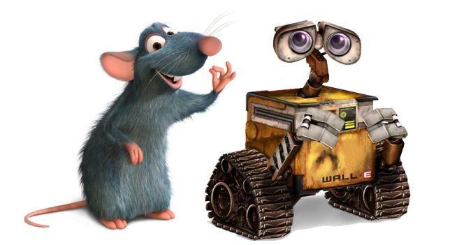 Por último, una de Animación ¿Wall-E o Ratatouille?