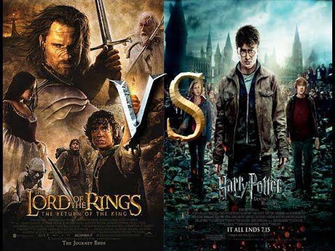 Venga una fuerte del género de Fantasía ¿El Señor de los Anillos o Harry Potter?