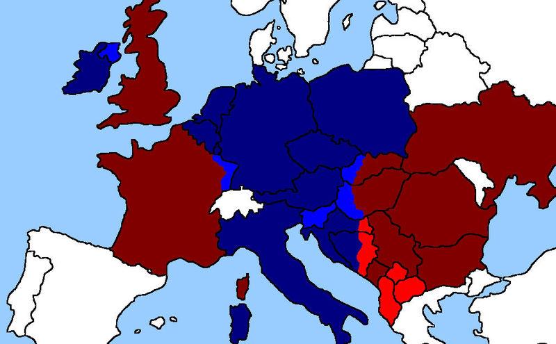 Alemania ha decidido invadir el Lorraine Francés al no dejar pasar su flota por la mancha y Gibraltar...