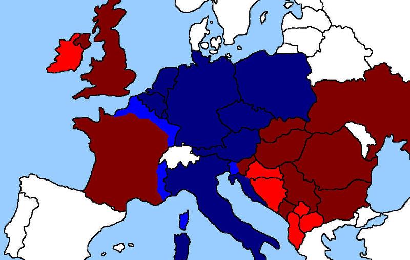 Es el momento decisivo. Europa está colapsada. La OTAN destruida. ¿En qué bando prefieres luchar?