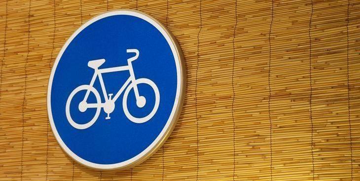 ¿Qué indica la señal circular azul?