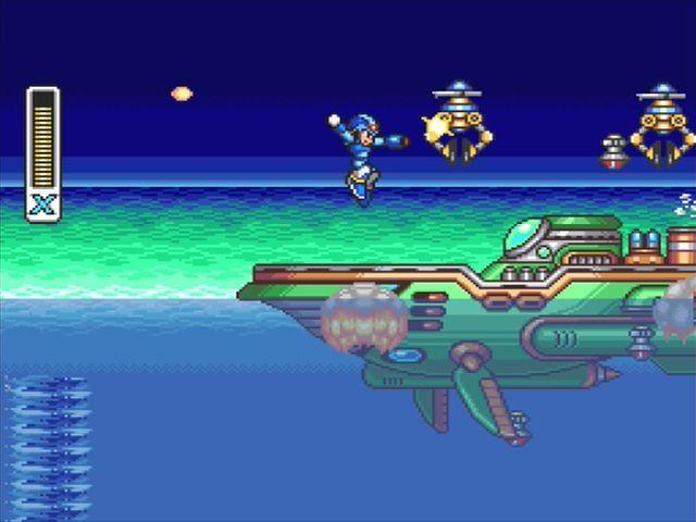 ¿Cuál es el nombre de esta etapa de Megaman X?