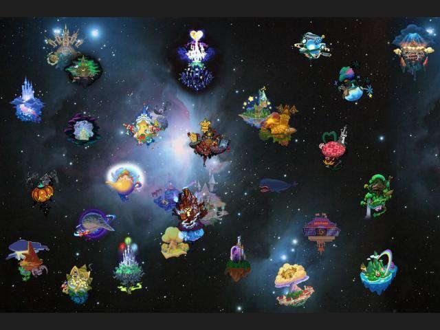 ¿En qué mundo solo aparece en Kingdom Hearts 1 y su versión FM+?