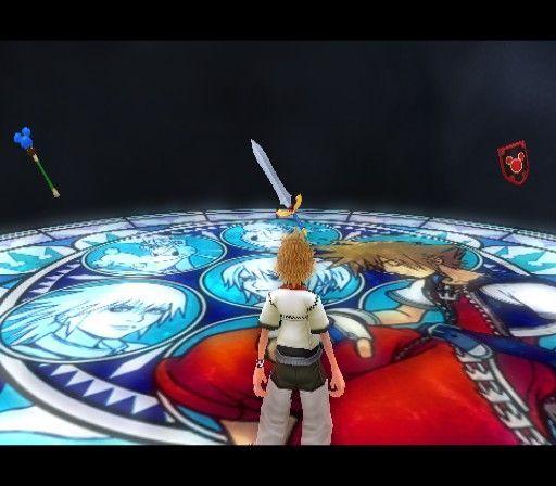 En la estación de la serenidad en KH2, las habilidades cambian según una elección. ¿Con qué opción obtienes antes