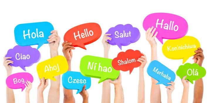 Idioma menos hablado.