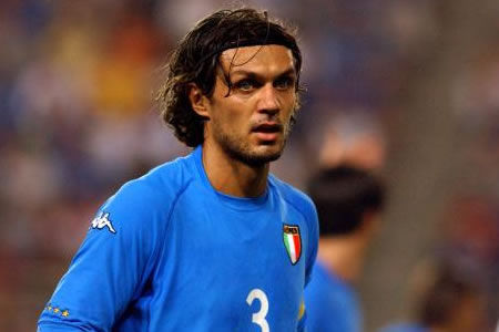 ¿En qué club se retiró Paolo Maldini?