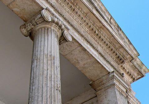 ¿A qué orden pertenece esta columna?