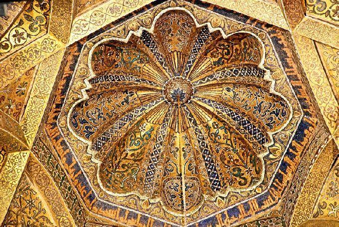 ¿Quién construyó esta cúpula en la mezquita de Córdoba?