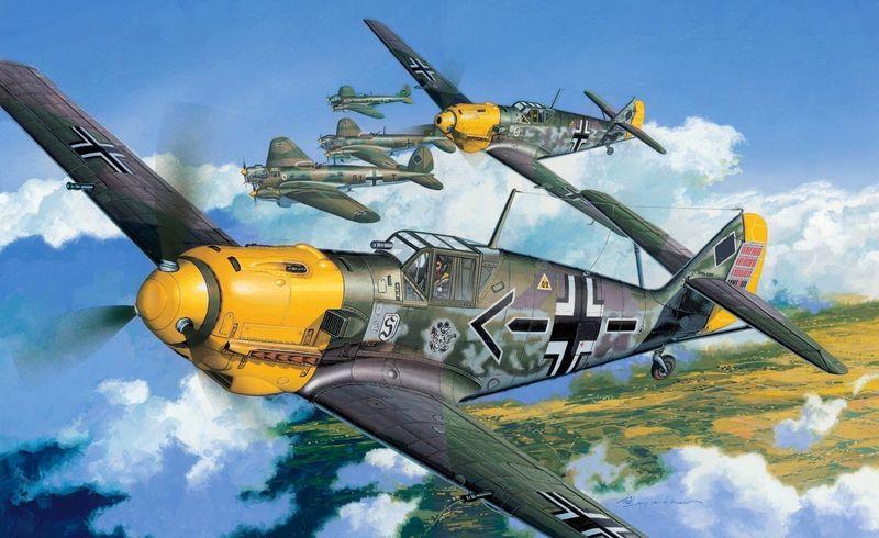 Era el adversario del primer avión de este test en la Batalla de Inglaterra
