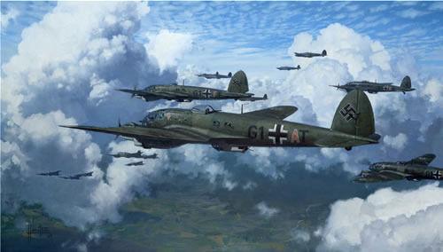 La dificultad comienza a subir, suenan las alarmas y un escuadrón de bombarderos se acerca hacia tu ciudad, ¿qué avión es?