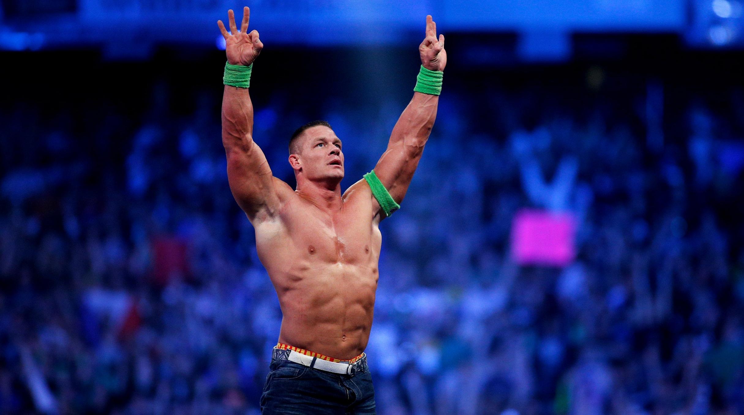 Has llegado a la WWE y te ofrecen debutar con John Cena como...
