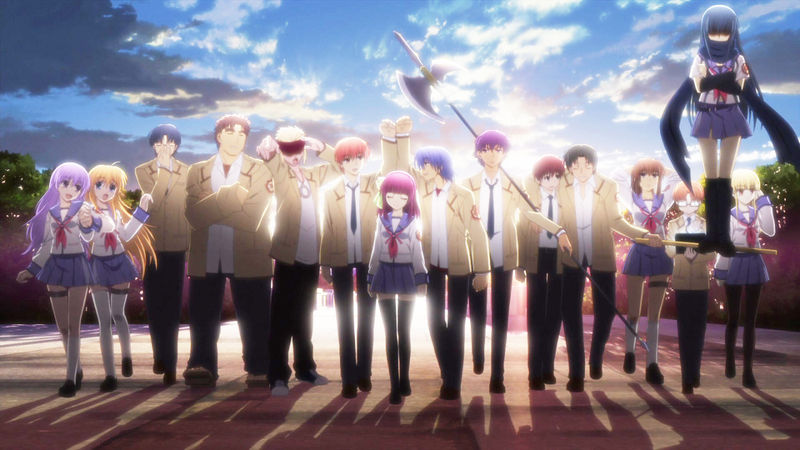 16321 - ¿Escaparías del mundo de Angel Beats?
