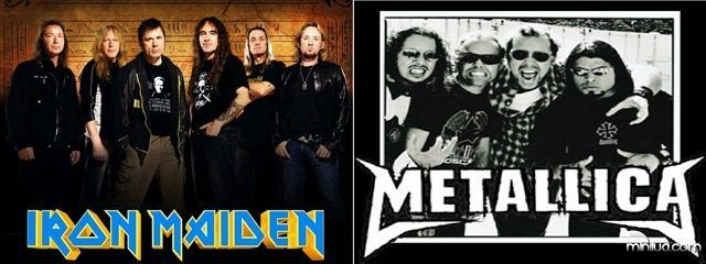 ¿Iron Maiden o Metallica?