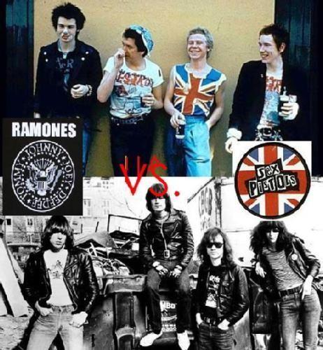 ¿Sex Pistols o Ramones?