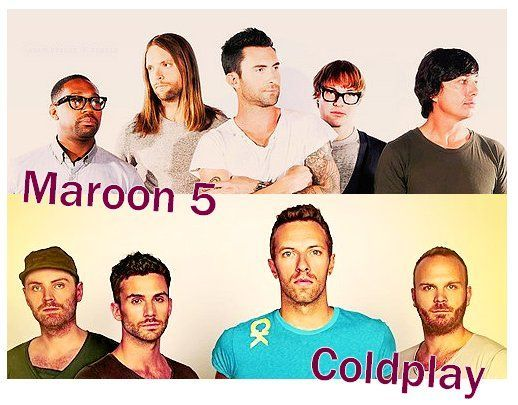¿Coldplay o Maroon 5?
