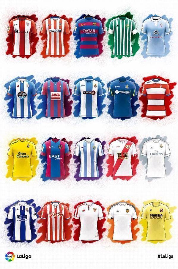16473 - ¿Sabrás relacionar estas camisetas de club con el país al que pertenecen?