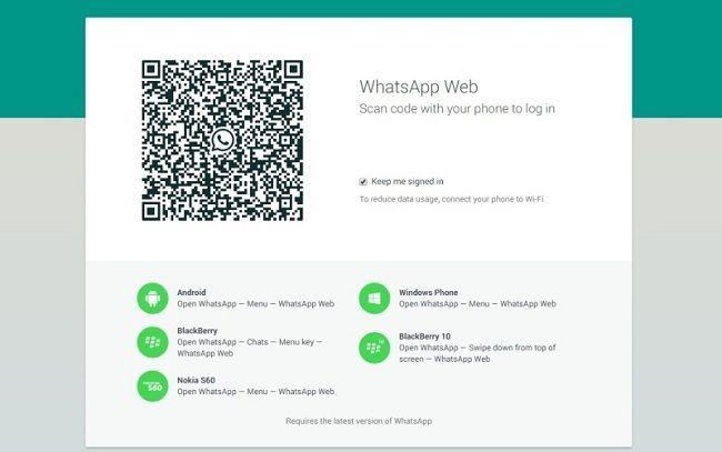 Tu amigo se deja el whatsapp web abierto en tu ordenador