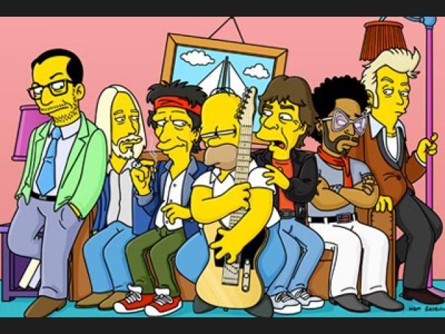 16497 - Famosos que han hecho un cameo en Los Simpson